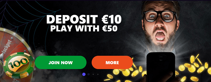 Deposit 10 get 50 to play for