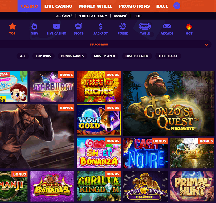 Casinoisy Online Casino Bonuses, Free Spins, Promotions