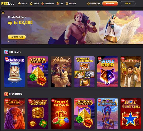 Fezbet Casino Review & Sportsbook