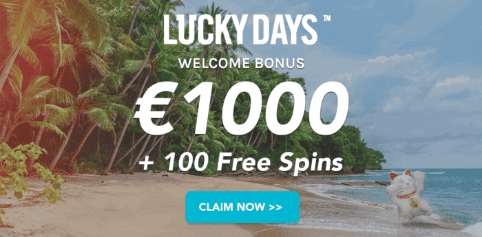 Get 1000 EUR welcome bonus now!