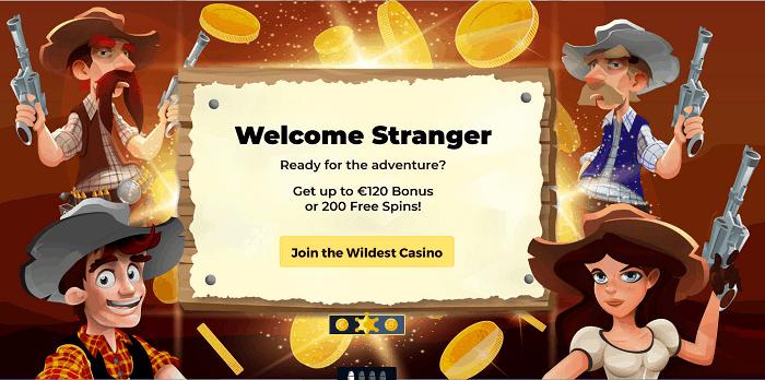 Welcome Stranger!