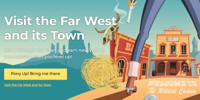 Visit the Far West and its Town!