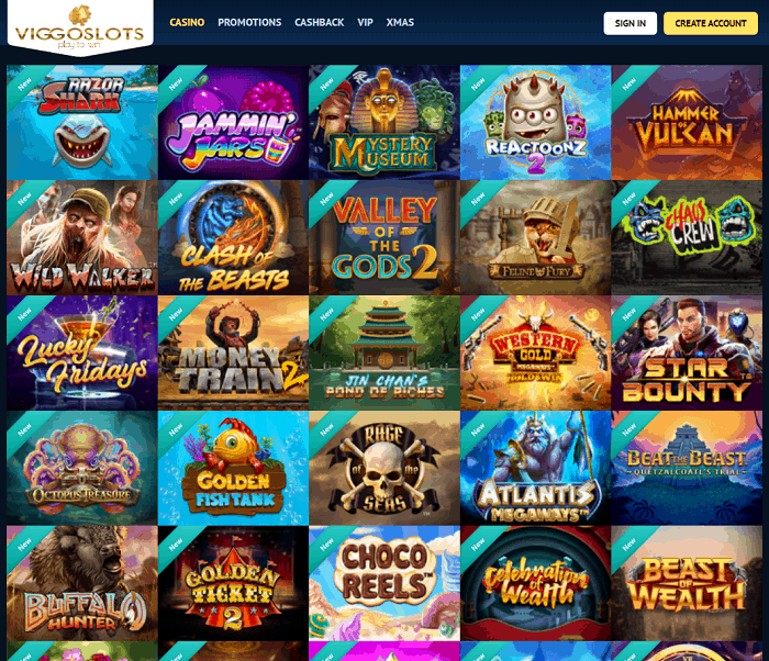Viggo Slots Casino Review
