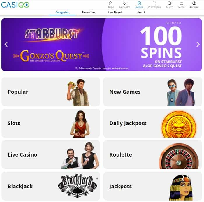 CasiGO Casino Full Review