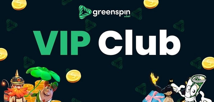 VIP Offers at GreenSpin.Bet