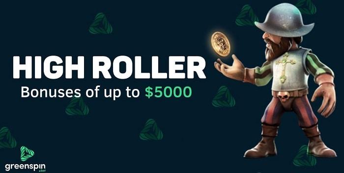 $5000 Highroller Bonuses