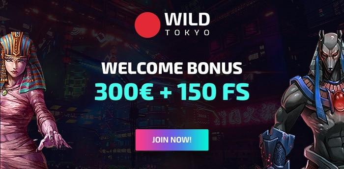 Get 300 EUR and 150 FS bonus