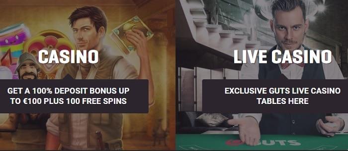 Casino and Live Dealer