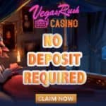 Vegas Rush Casino - free spins, no deposit bonus, promotions