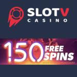 SlotV Casino 150 gratis spins and €1500 free welcome bonus