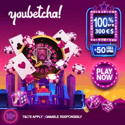 Get 50 free spins Bonus!