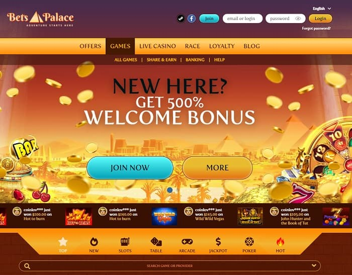 BetsPalace Review