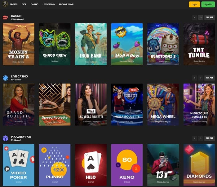 FortuneJack Casino Bitcoin Bonus