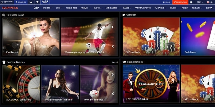 PariPesa Live Casino and Sports