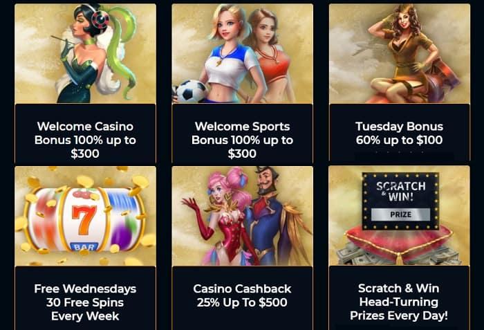 Jet Casino Bonuses