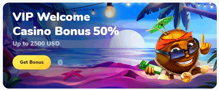 VIP Welcome Bonus